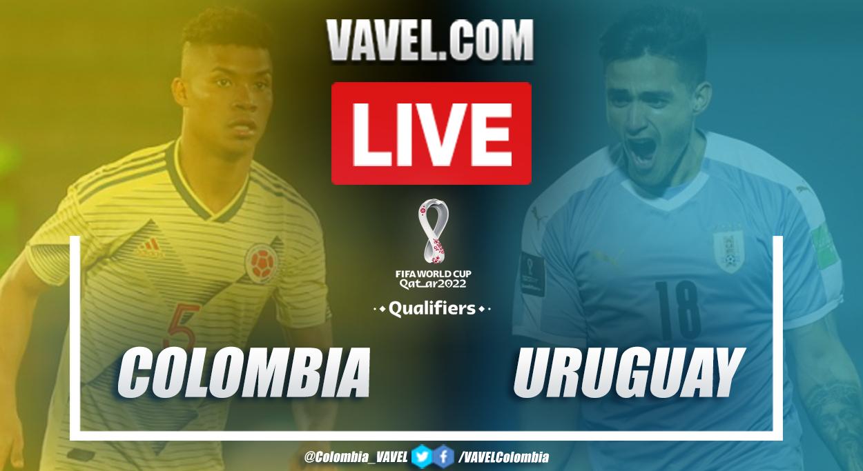 Resumen y goles: Colombia vs Uruguay (0-3) en eliminatorias 2022