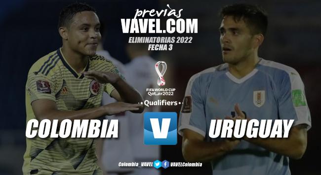 Previa Colombia vs Uruguay: 'cafeteros' y 'charrúas' se medirán bajo el sol de Barranquilla