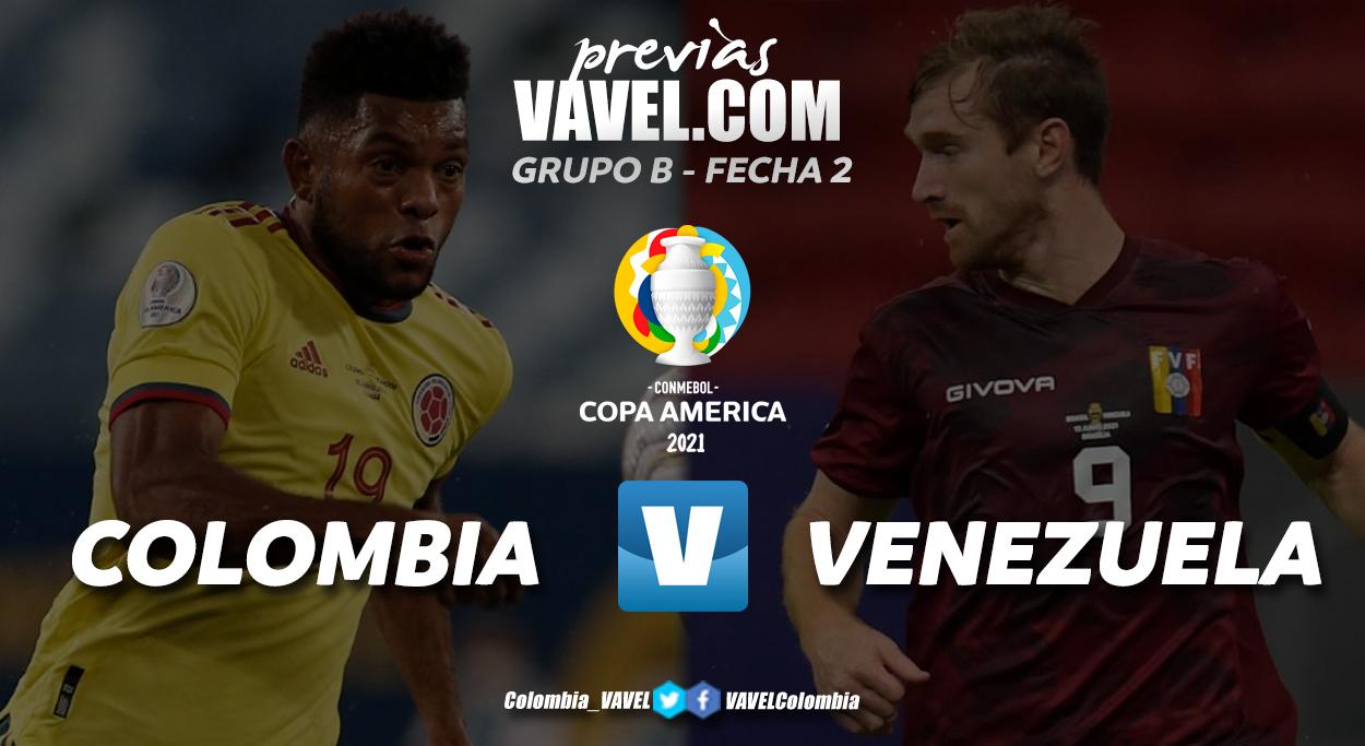 Previa Colombia vs Venezuela: un duelo con distintas realidades