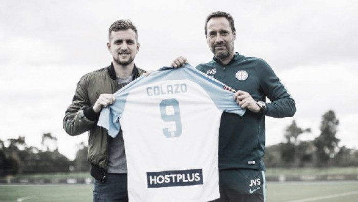 Colazo es refuerzo de Melbourne City