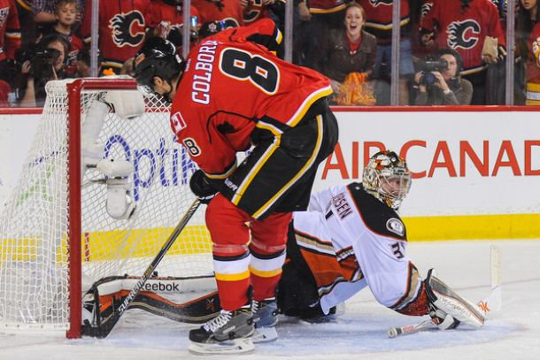 Comeback In Calgary As Flames Give Ducks First Postseason Loss