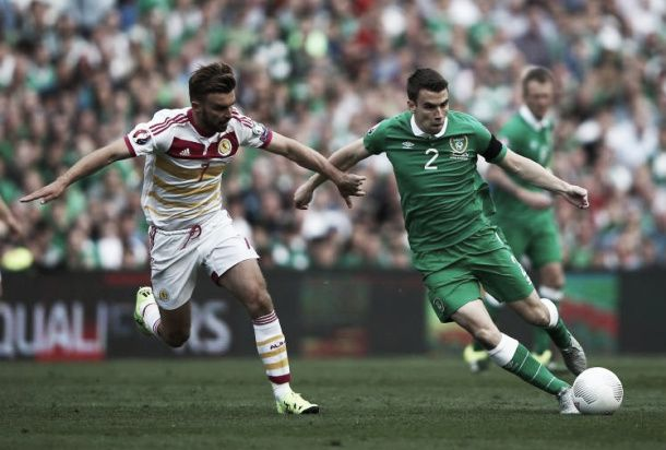 Seamus Coleman set to miss Ireland's game against Germany