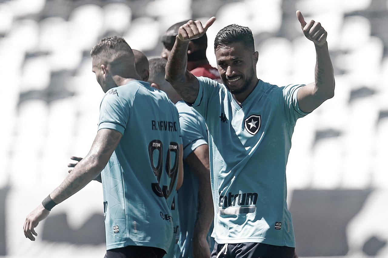 Auxiliar parabeniza Botafogo pela vitória sobre Vila Nova e minimiza pressão no final