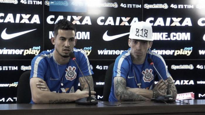 """Zagueiro Pedro Henrique e atacante Rildo apoiam chegada de Alexandre Pato: """"Vai agregar"""""""