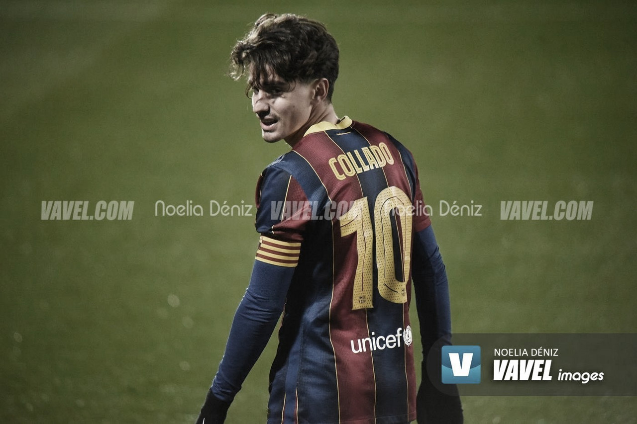 Resumen Barça B 6-0 Hospitalet en 2a B