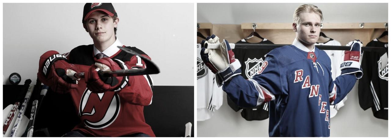 Jack Hughes y Kaapo Kakko firman sus primeros contratos en la NHL