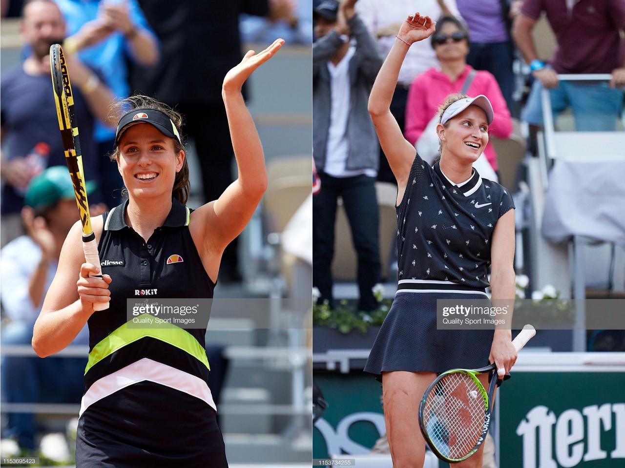 French Open semifinal preview: Johanna Konta vs Marketa Vondrousova