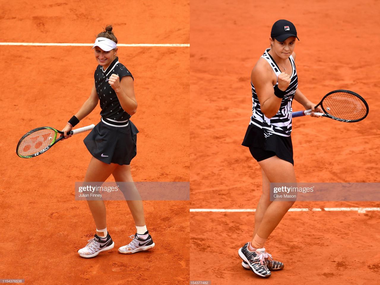 French Open final preview: Ashleigh Barty vs Marketa Vondrousova