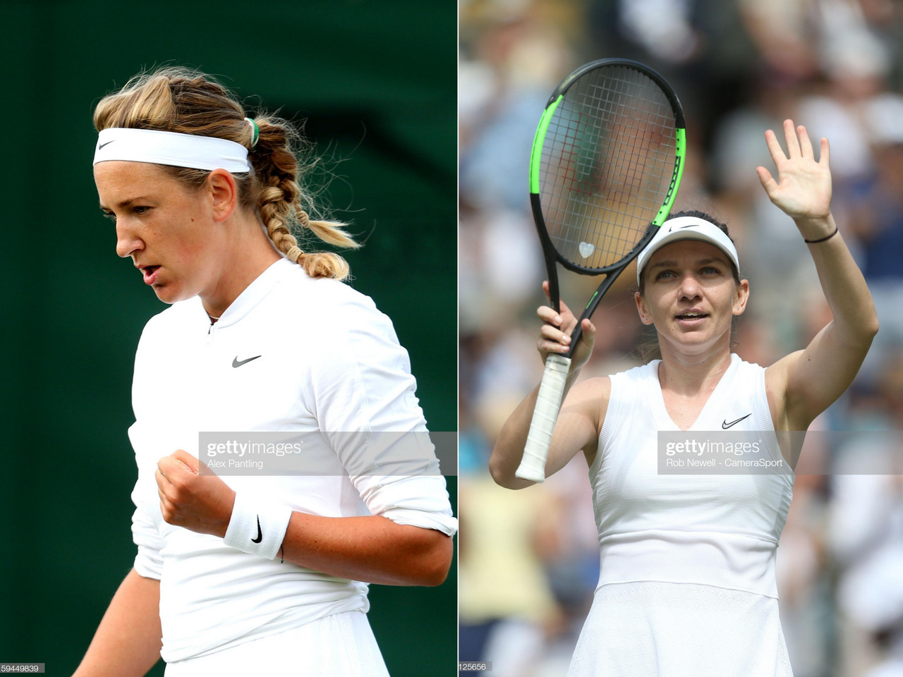 Chilled Halep catches fire to dispatch Azarenka at Wimbledon
