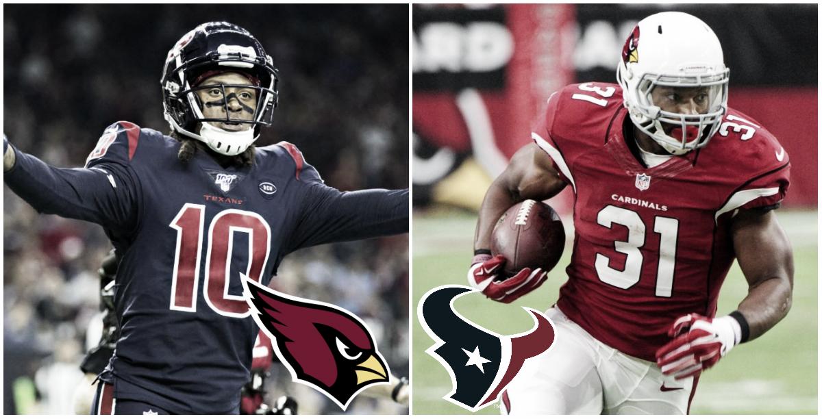 DeAndre Hopkins a Cardinals y David Johnson a Texans acaparan la atención en los intercambios de la NFL