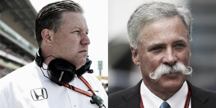 Zak Brown pide a Liberty Media que ignore las peticiones de Ferrari y Mercedes