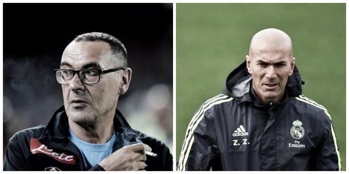 Verso Real Madrid - Napoli, Sarri vs Zidane: la saggezza sfida storia e blasone