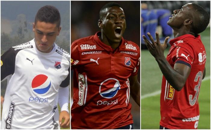 Atuesta, Cortés y Valencia fueron convocados a la Selección Colombia Sub 20