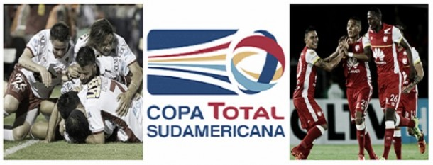 Resultado Huracán - Santa Fe en Copa Sudamericana 2015 (0-0)