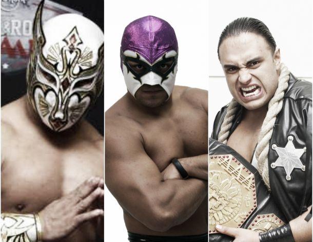 Gladiadores mexicanos, listos para el mundial de lucha libre
