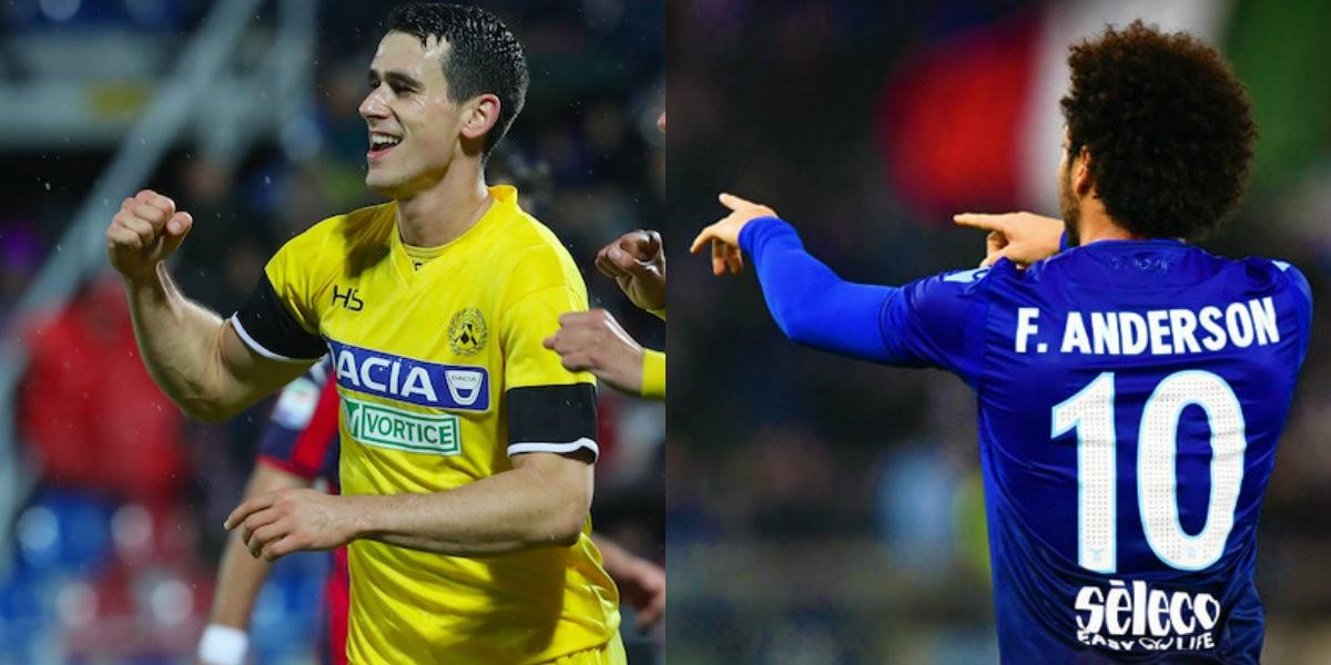 Serie A - La Lazio ha l'occasione per agganciare il terzo posto, l'Udinese deve svegliarsi