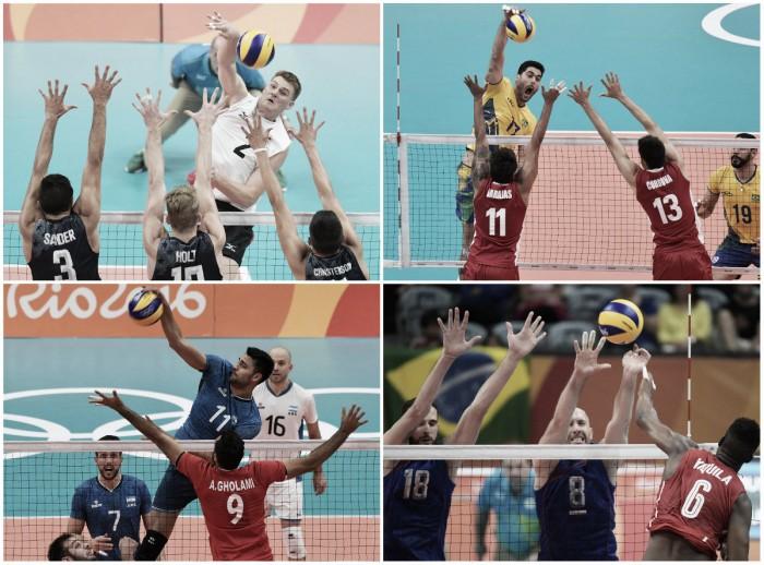 Río 2016: Resumen del día 2 de Vóley