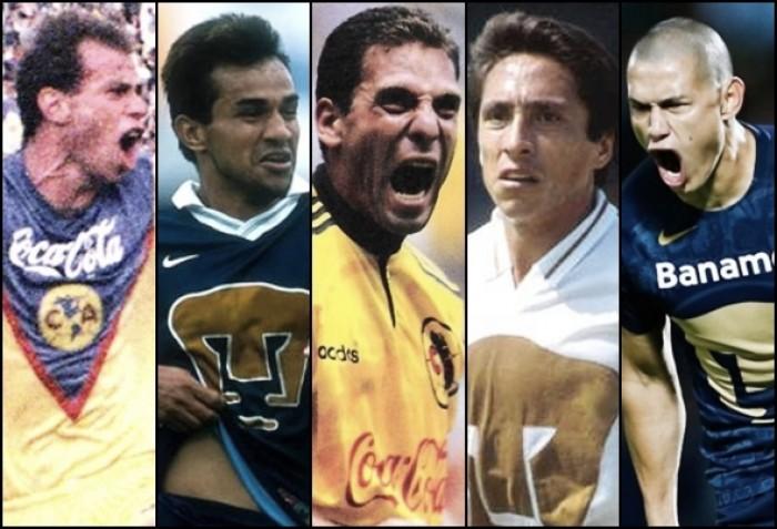 Los máximos goleadores del Clásico Capitalino