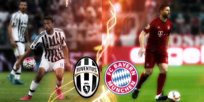 La strada per Juve - Bayern: gli equilibratori, Marchisio prova a spodestare Alonso