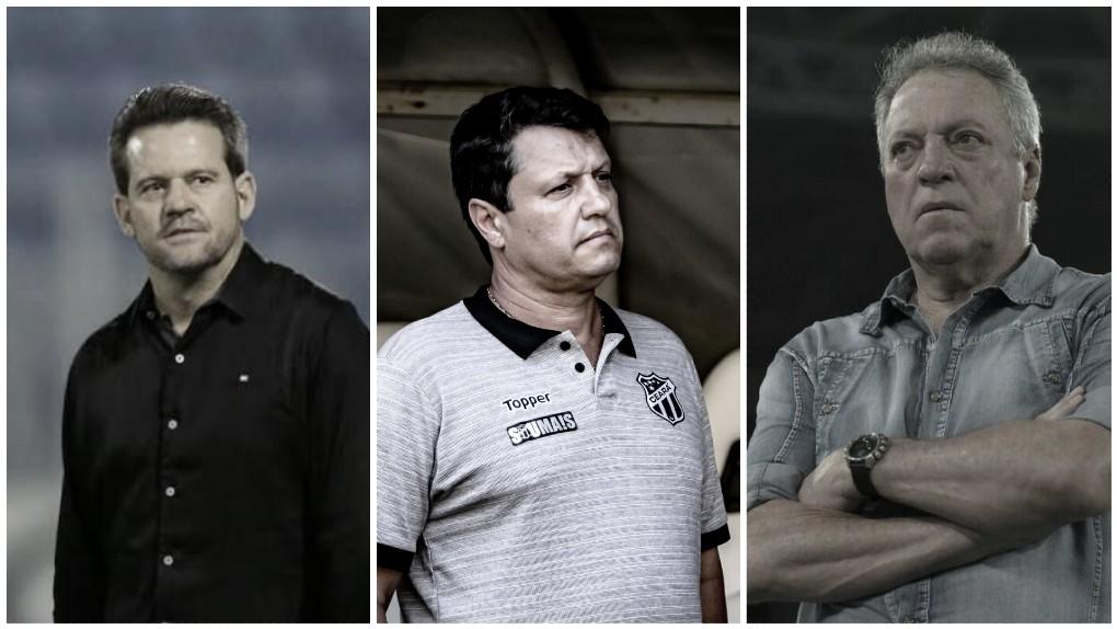 Na reta final do desespero, Ceará, Cruzeiro e CSA trocam figurinhas no comando técnico