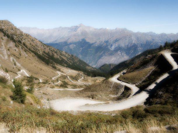 Giro d'Italia, 20° tappa: il Colle delle Finestre, prima dell'arrivo al Sestriere