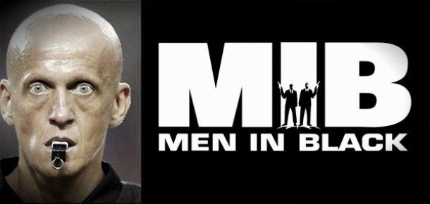 Pierluigi Collina, 'the men in black'