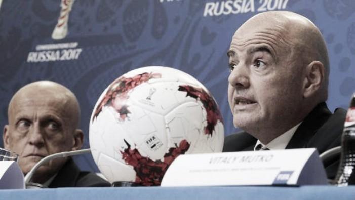 """Confederations Cup, Infantino soddisfatto: """"Il VAR è un successo"""""""