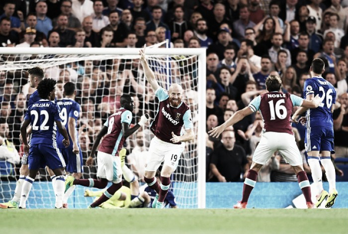 James Collins admits that Monday's defeat to Chelsea was tough to take for the Hammers