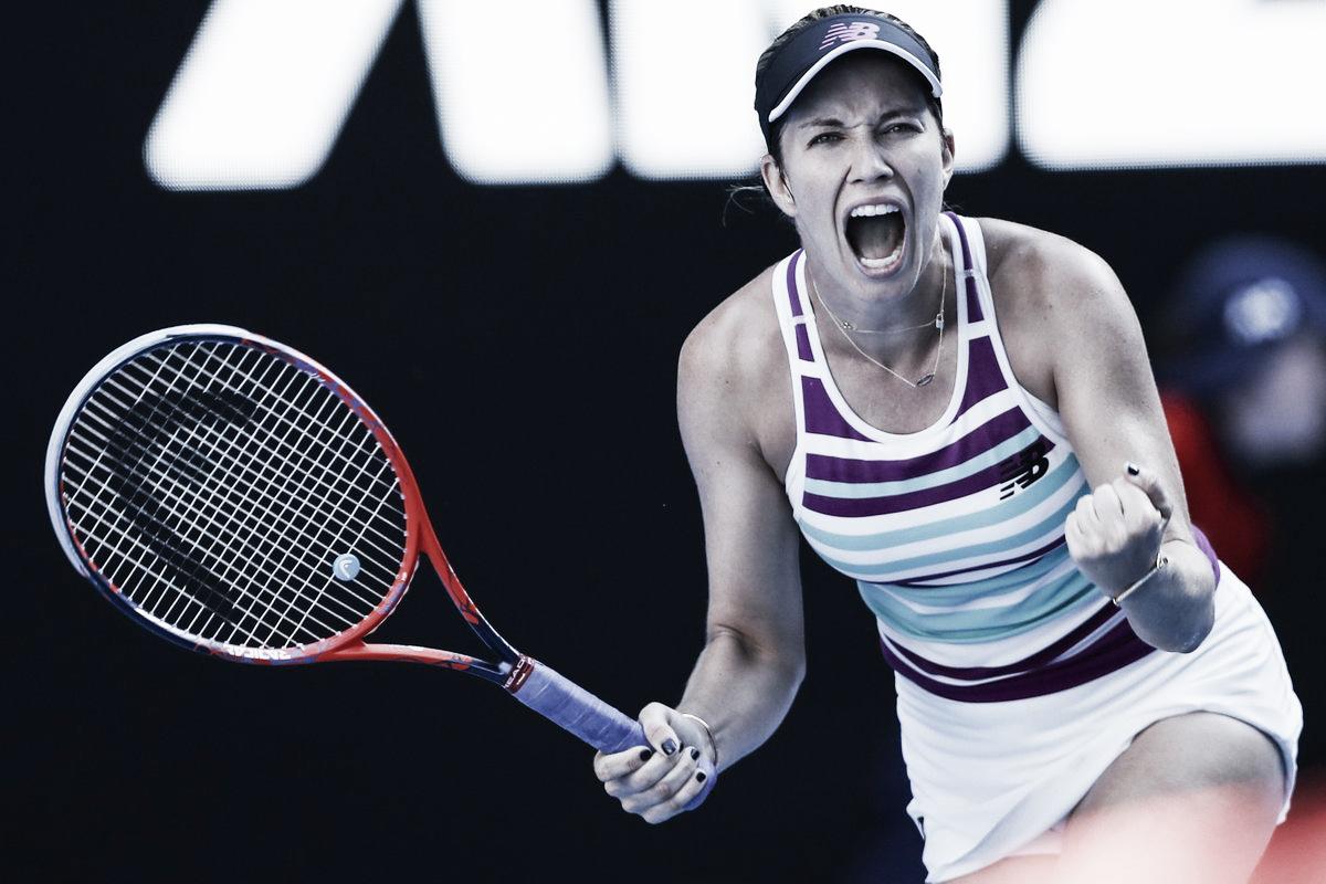Collins confirma boa fase e vira contra Pavlyuchenkova rumo às semis do Australian Open