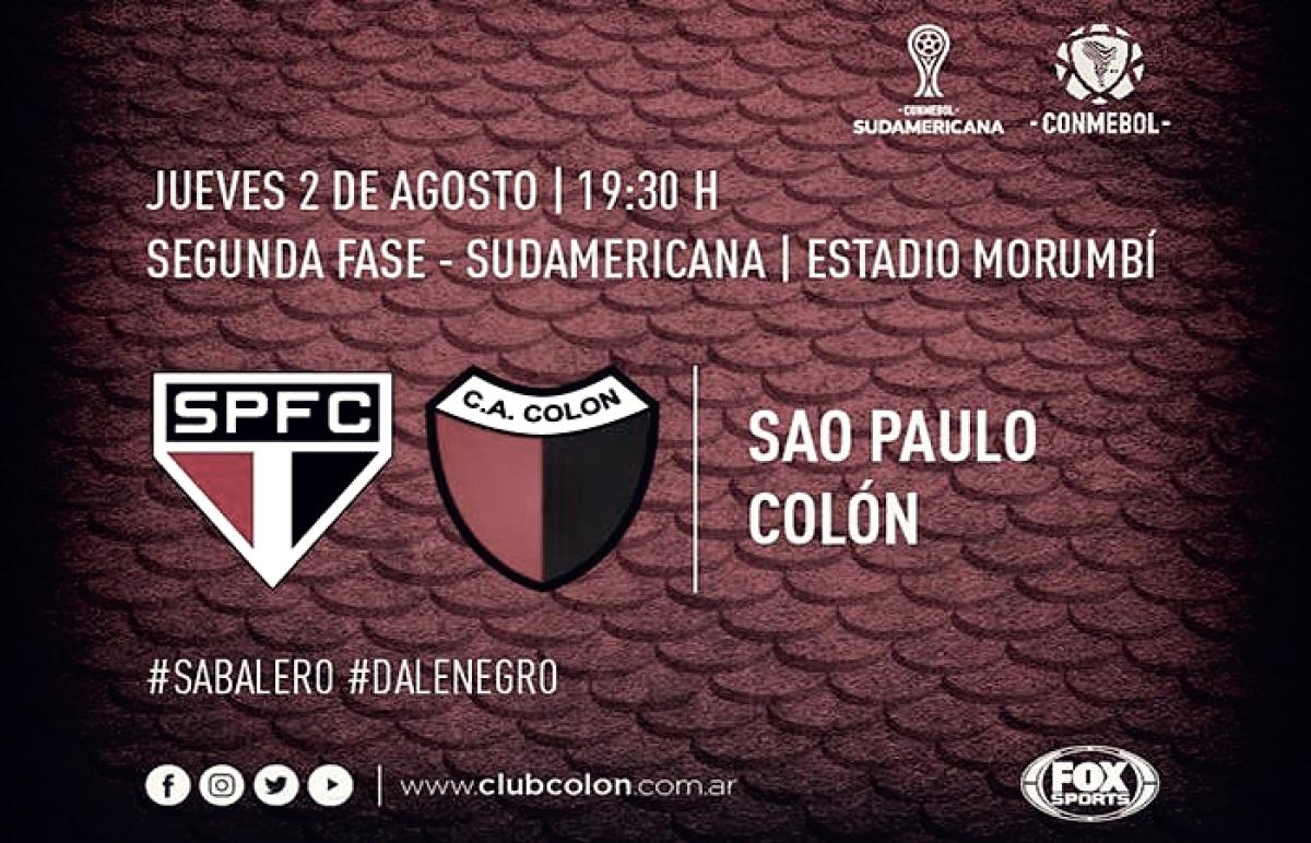 Colón se prepara de cara a un partido histórico en Brasil