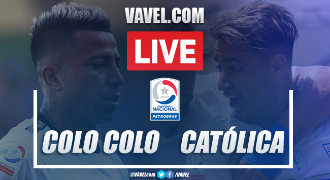 Resumen y goles Colo Colo 0-2 Universidad Católica en Torneo Nacional 2020