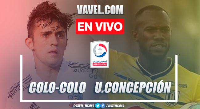 Gol y resumen del Colo Colo 1-0 U. Concepción en Promoción Campeonato Nacional 2021