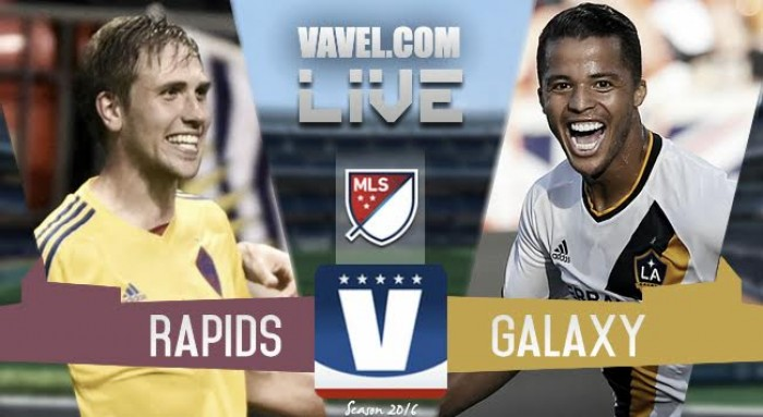 Score Colorado Rapids 1-0 Los Angeles Galaxy in Audi 2016 MLS Playoffs