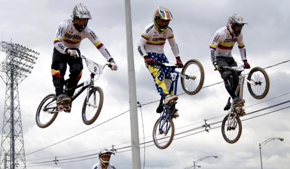 BMX: Estos son los 17 corredores que van por Colombia a Santiago