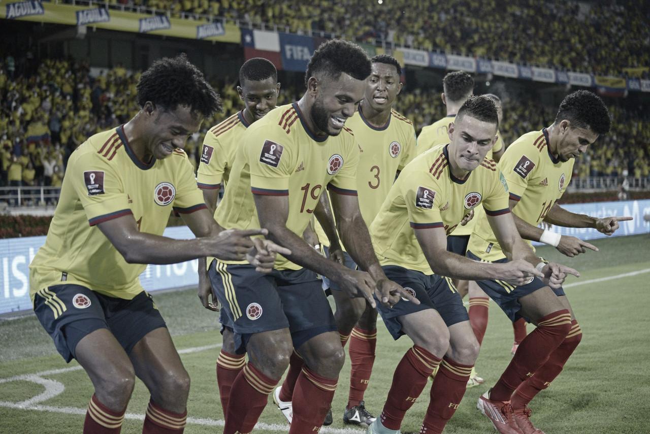 Colombia le ganó a Chile y mantiene vivo el sueño de ir a Catar 2022