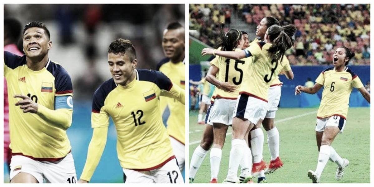 La Selección Colombia sub-21 en los Juegos Olímpicos 2016