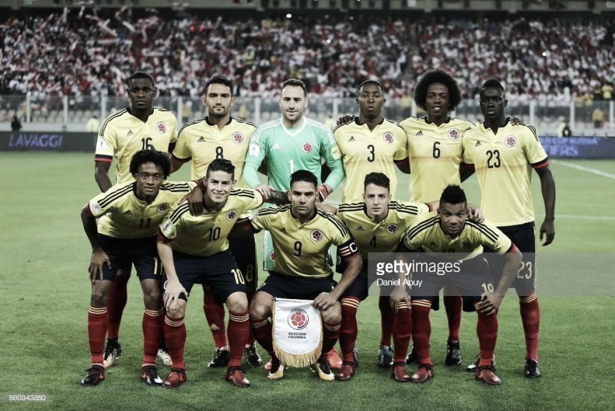 Rússia 2018: Colômbia