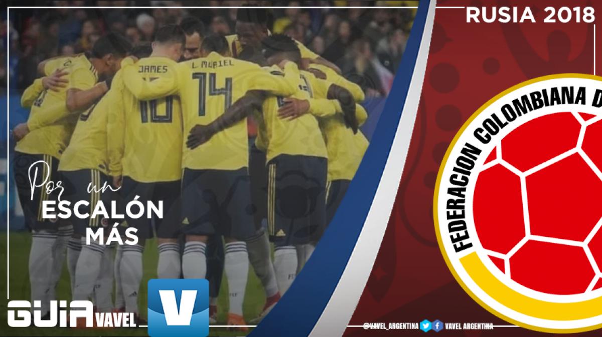 Guía selección colombiana 2018: por un escalón más