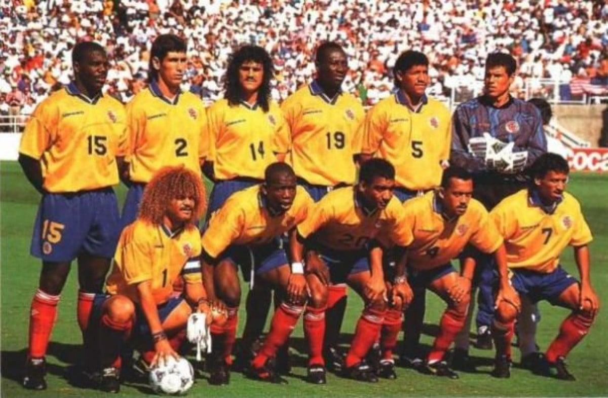 Colombia: participación en el Mundial de USA 1994