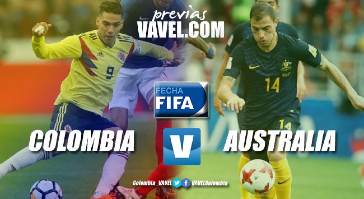 Previa Colombia vs Australia: un nuevo aire para un nuevo encuentro