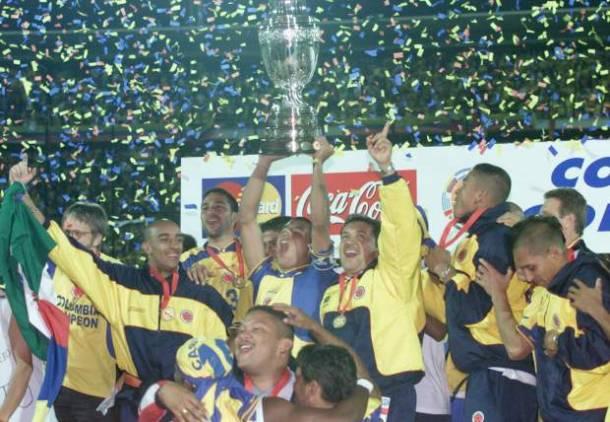 Cápsulas de antaño: Colombia campeón 2001