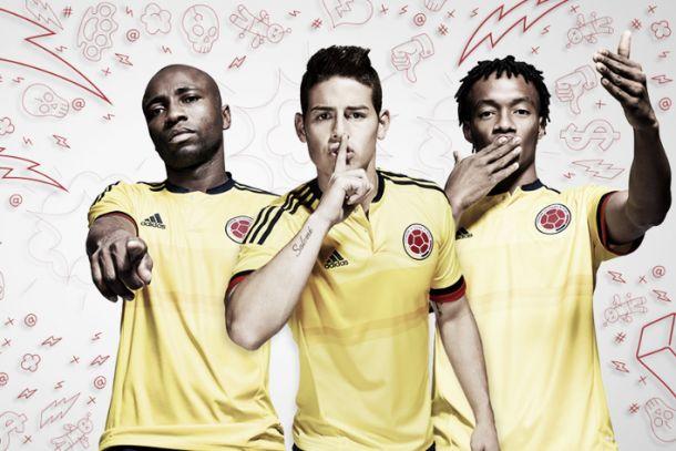 Colômbia aposta no amarelo clássico e azul arrojado nos mantos que vestirá na Copa América