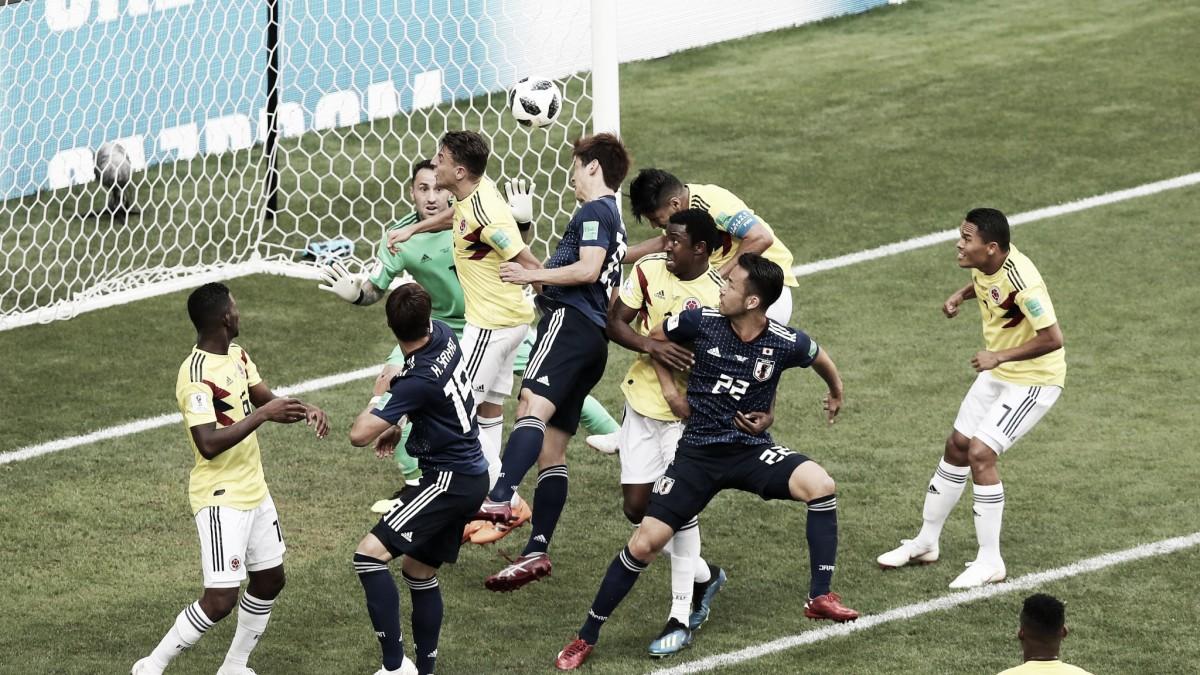 Japón venció 2-1 a una Colombia desdibujada