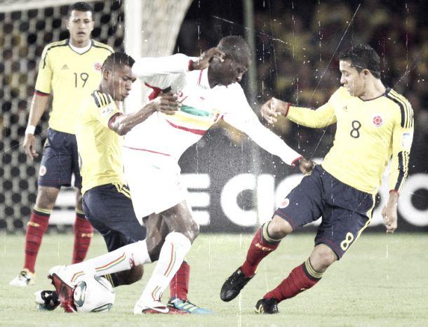 Historial: Selección Colombia Sub-20 ante los africanos
