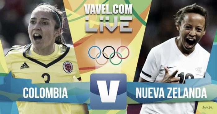 Resultado Colombia vs Nueva Zelanda en Fútbol Femenino Juegos Olímpicos Río 2016 (0-1)