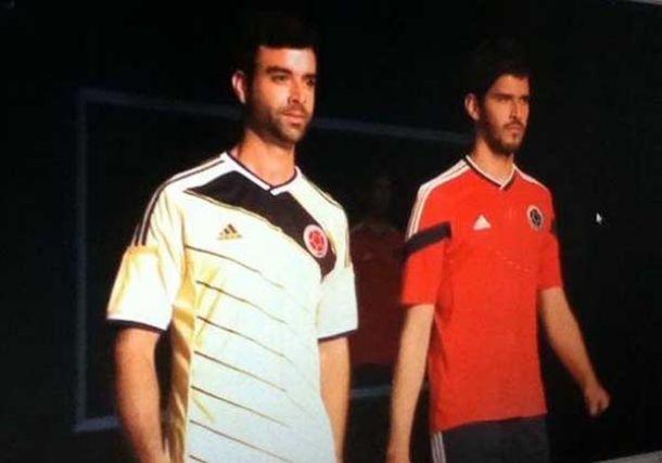 En exclusiva, los nuevos uniformes de Colombia para 2014