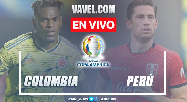 Goles y resumen del Colombia 3-2 Perú en Copa América