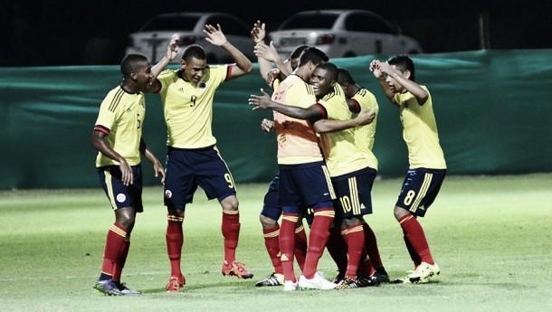 Colombia logró su primera victoria en el Sudamericano Sub-15