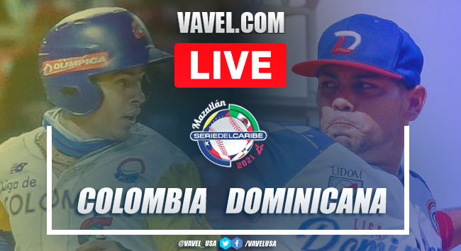 Resumen y carreras: Colombia 2-3 República Dominicana en Serie del Caribe 2021