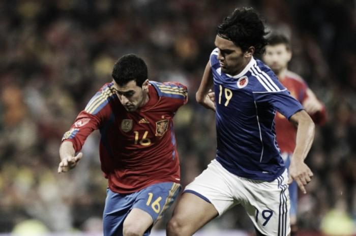 Colombia se enfrenta por tercera vez a España
